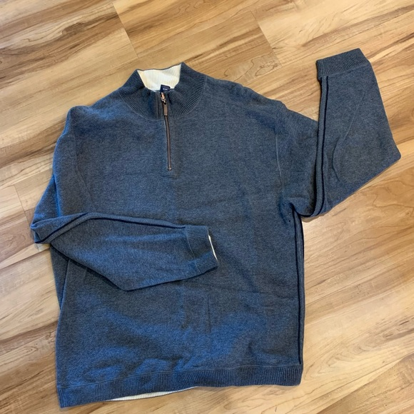 hathaway Other - Heather Grey Hathaway 1/4 Zip Sweater (Size Large)
